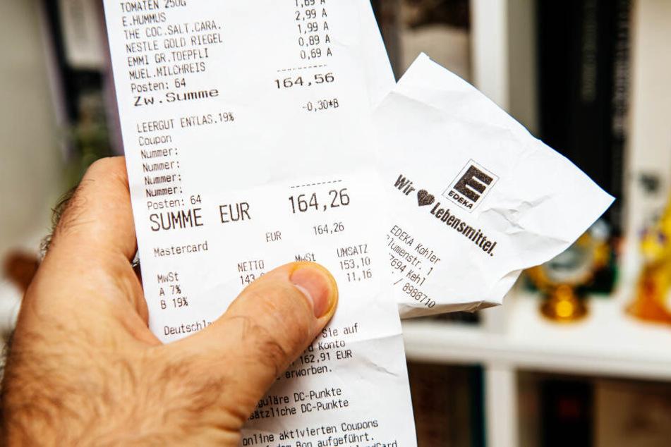 Zwar wird in Zukunft hier und dort weniger bezahlt, jedoch muss man nun mit wesentlich mehr Papiermüll rechnen.