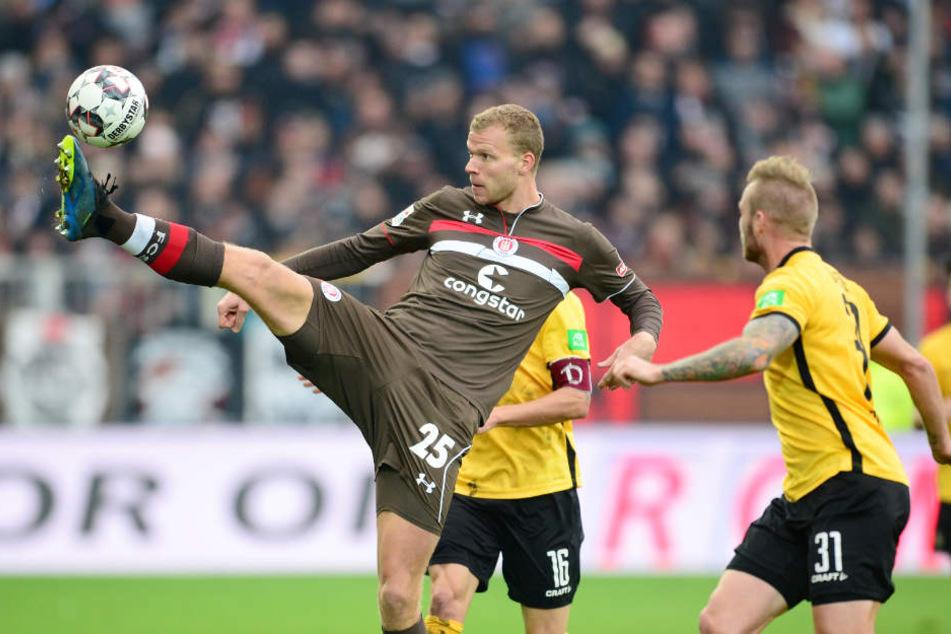 Stürmer Henk Veerman wird dem FC St. Pauli bis zum Saisonende fehlen.