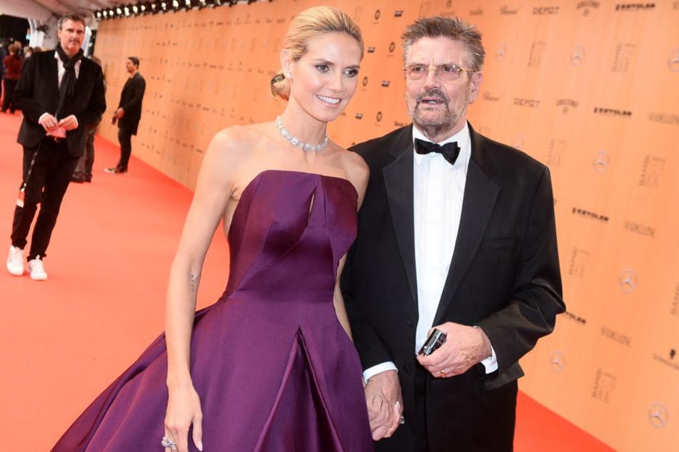 """Seit Jahren nimmt Heidi Klums (44) Vater ihre """"Määädchen"""" unter Vertrag."""