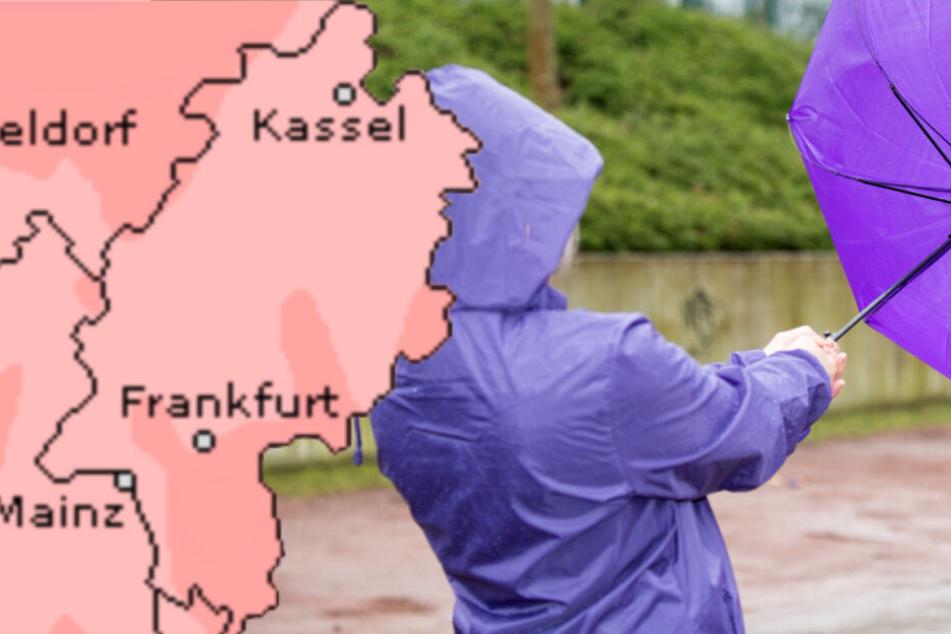 Ziemlich ungemütlich: Das Wetter am Rosenmontag in Frankfurt und ganz Hessen