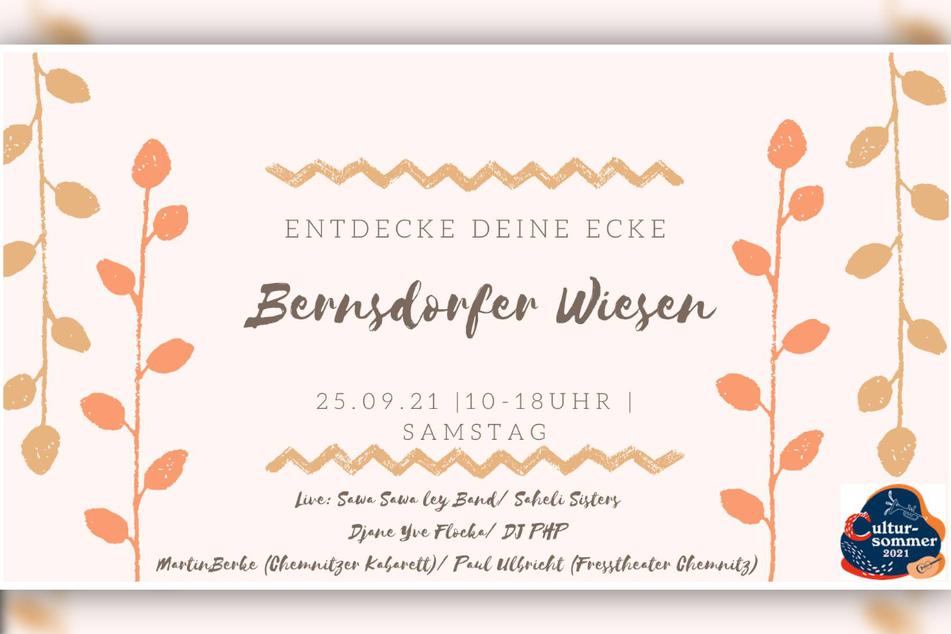 Zahlreiche Attraktionen, viel Live-Musik, leckere Köstlichkeiten und vieles mehr erwartet die Besucher der Bernsdorfer Wiesen.