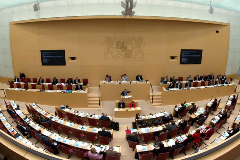 Im Bayerischen Landtag sitzen weniger Frauen als vor 15 Jahren.