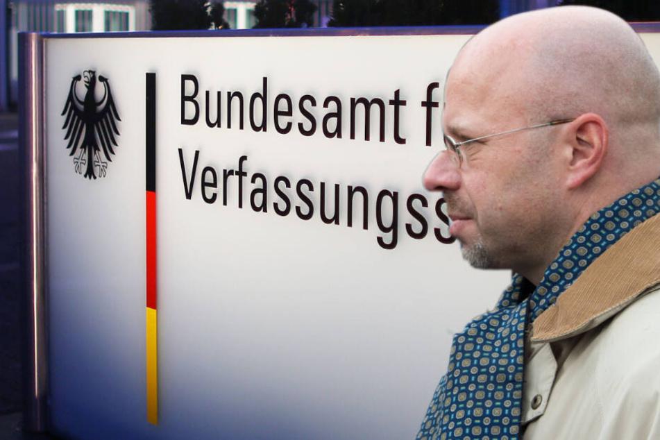 Der Brandenburger AfD-Landeschef Andreas Kalbitz vermutet politische Motive für Einstufung der AfD als Prüffall durch den Verfassungsschutz. (Bildcollage)