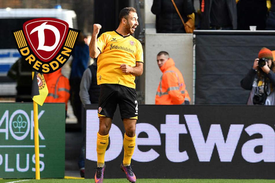 Blüht Dynamos Akaki Gogia gegen die Kleeblätter wieder auf?