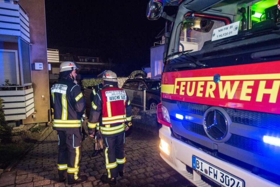 Die Feuerwehr rückte mit zahlreichen Einsatzkräften an...