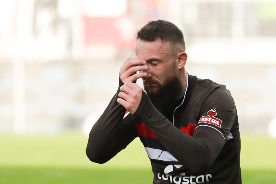 Marvin Knoll hat nach dem Sieg gegen Regensburg Muskelprobleme. (Archivbild)