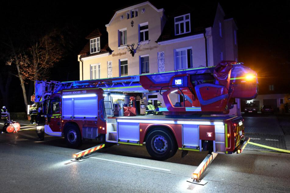 München: Feuer in griechischem Restaurant! Fünf Menschen verletzt