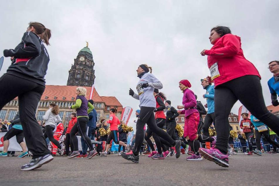 Morgen fällt beim Citylauf der Startschuss für die Laufsaison in Dresden.