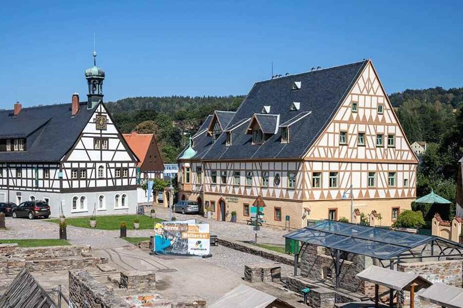Das Hotel Saigerhütte in Olbernhau blickt auf eine 400-jährige Geschichte zurück.
