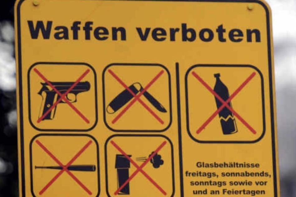 Seit November 2018 herrscht eine Waffenverbotszone in der Leipziger Eisenbahnstraße.