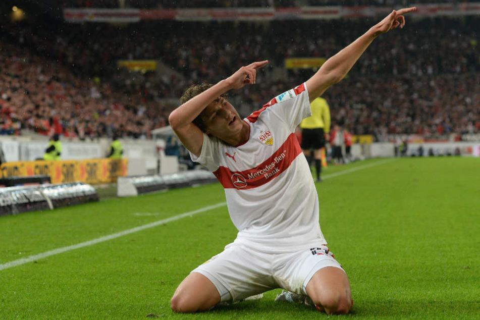 Will sich voll auf den Klassenerhalt mit dem VfB konzentrieren: Benjamin Pavard. (Archivbild)