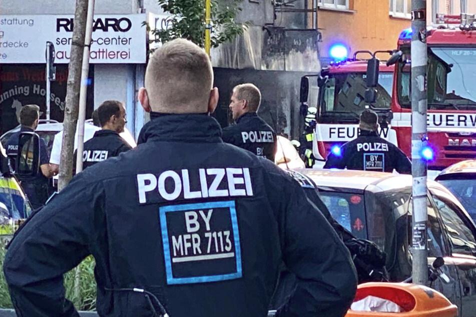 Explosion in Nürnberger Supermarkt: Ermittler auf Spurensuche