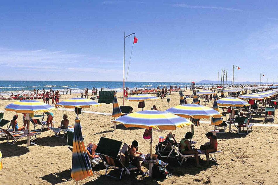 Im beliebten Urlaubsort Rimini wurde eine Frauenleiche in einem Koffer entdeckt.