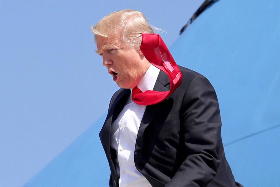 Donald Trump (70) beharrt auf den Einreisestopp.