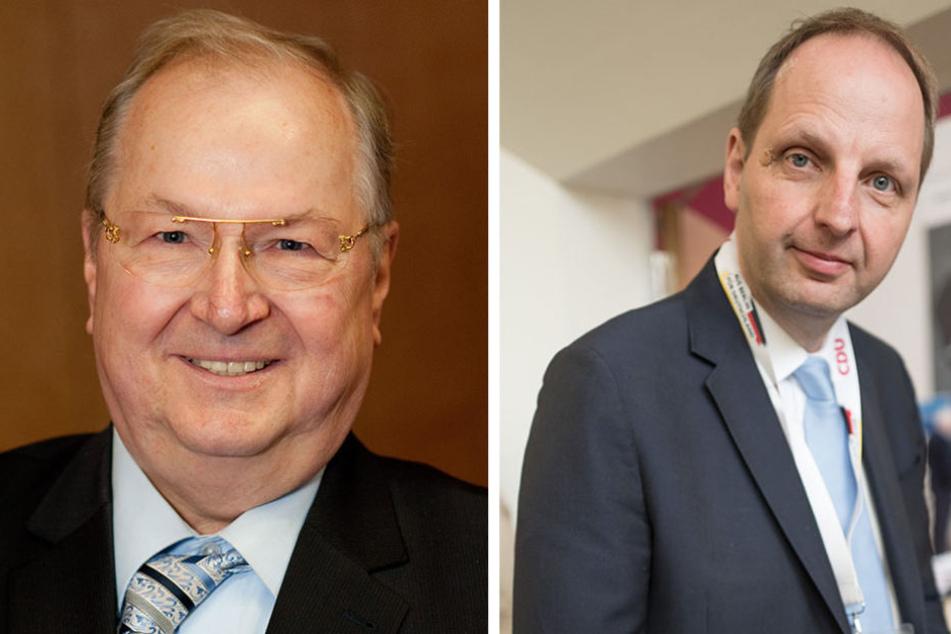 Sie sind Initiatoren: Heinz Buschkowsky (l) und Justizsenator Thomas Heilmann.