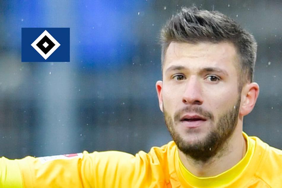 Muss der HSV gegen Fürth auf Torwart Heuer Fernandes verzichten?
