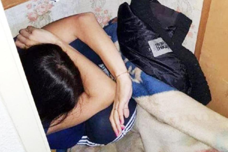 Verprügelt und in Kiste eingesperrt! Frau leidet Höllenqualen