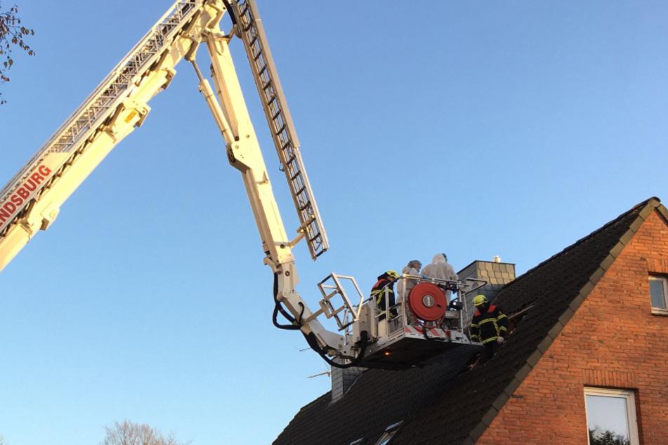 Auf dem Dachboden eines Mehrfamilienhauses in Rendsburg fanden die Ermittler eine Leiche.
