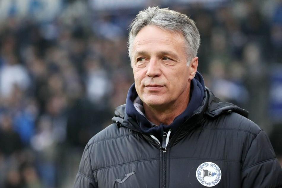 Trainer Uwe Neuhaus ist mit der Leistung seiner Jungs zufrieden.