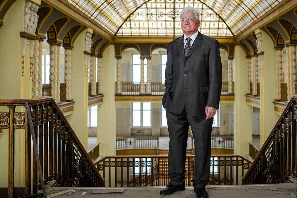 Winfried Stöcker (70) will das Görlitzer Kaufhaus sanieren und wiedereröffnen.