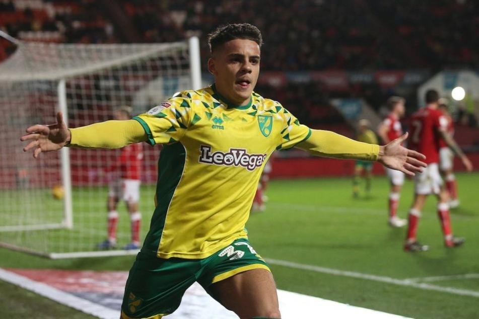 Stammspieler bei Norwich City in der zweiten englischen Liga und heiß begehrtes Talent: Max Aarons (18).