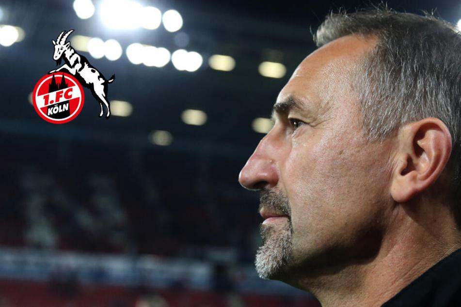 1. FC Köln steckt in der Krise! Coach Beierlorzer steht mächtig unter Druck