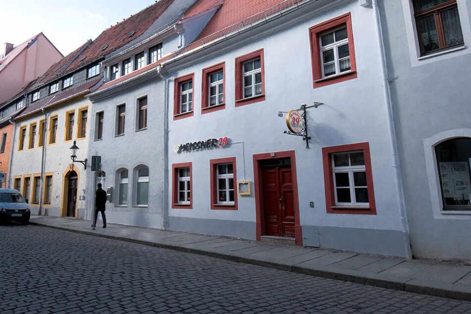 In dieser Szene-Kneipe in der City von Freiberg geschah die folgenschwere Prügelei.