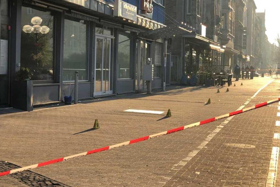 Einer der Tatorte, an dem ein Mann in Nürnberg eine Frau angriff. (Archivbild)
