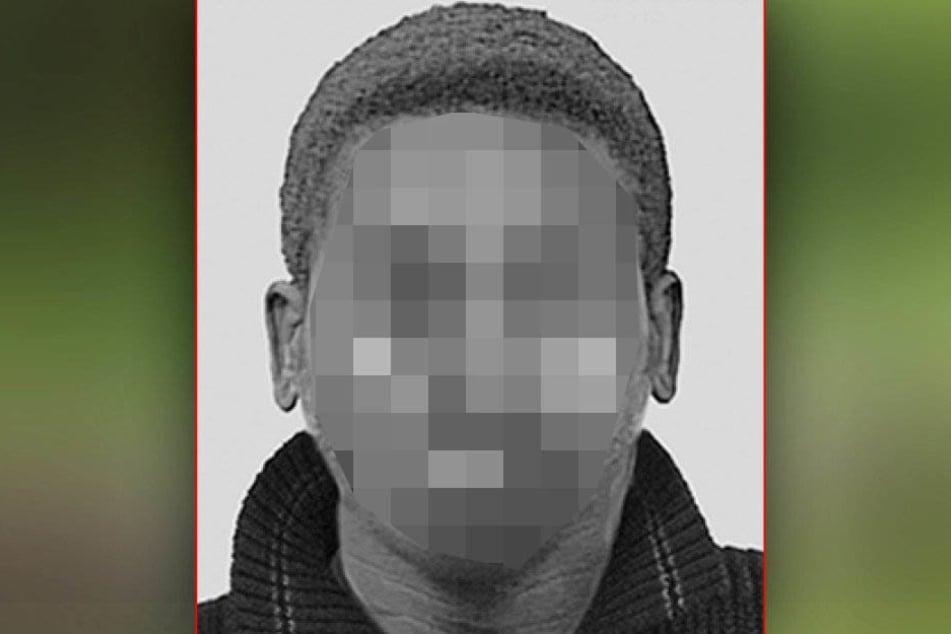 Mit diesem Fahndungsbild versuchten die Beamten den Täter zu finden.