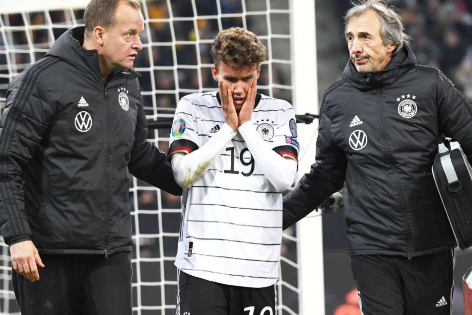 Luca Waldschmidt musste sich aufgrund einer Gesichtsverletzung einer Operation unterziehen.