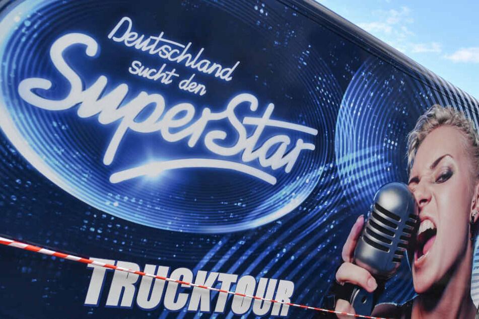 Der DSDS-Truck war für das Casting in ganz Deutschland unterwegs.