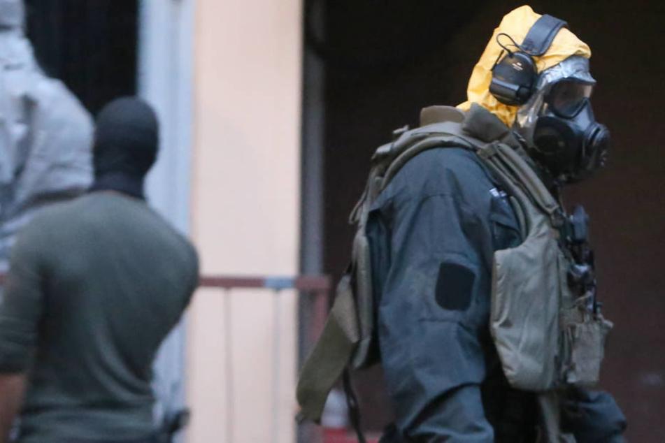 Spezialkräfte hatten am Dienstagabend die Wohnung des 29-jährigen Tunesiers untersucht.