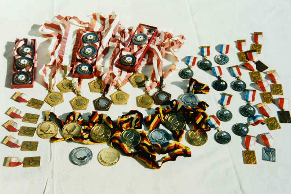 Sportlerkarriere im Medaillenregen: Mit den meisten Auszeichnungen in einer  Sportlerlaufbahn steht sie im Guinnessbuch der Rekorde.