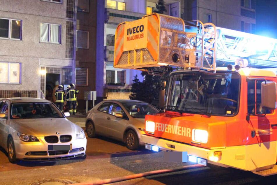 Schon wieder! Brand in Leipziger Wohnhaus