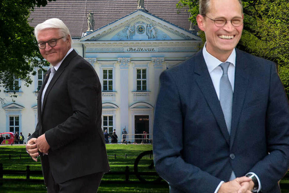 Berlins Bürgermeister beerbt Präsident Steinmeier... wenn er mal nicht kann