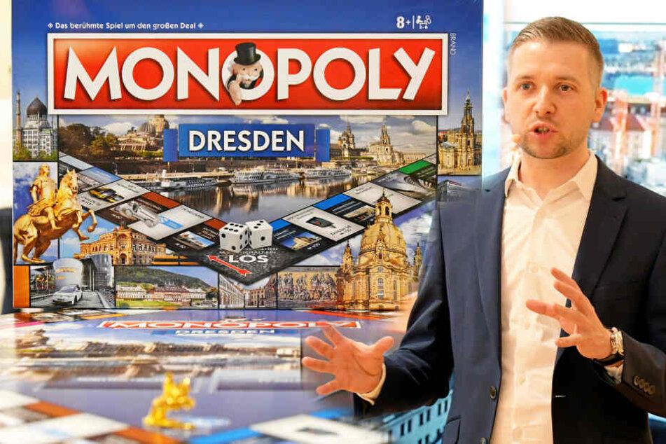 Dresden: Dresden-Monopoly ist was für Spekulanten: Warum nicht mal eine ganze Straße kaufen?