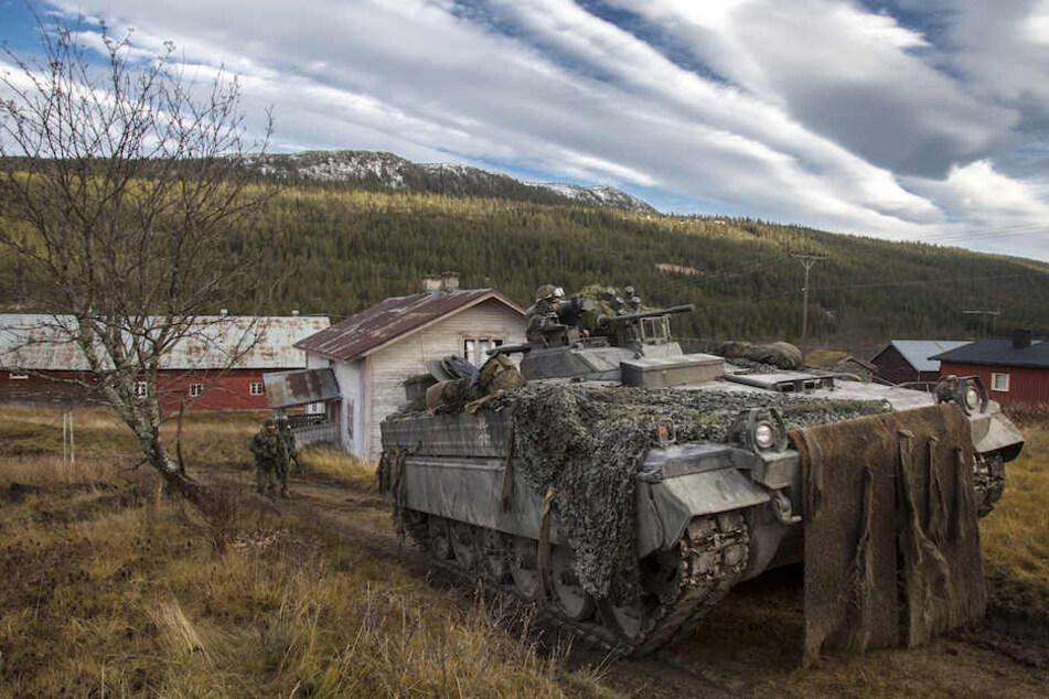 """Beim NATO-Manöver """"Trident Juncture"""" in Norwegen ereignete der tödliche Unfall. (Symbolbild)"""