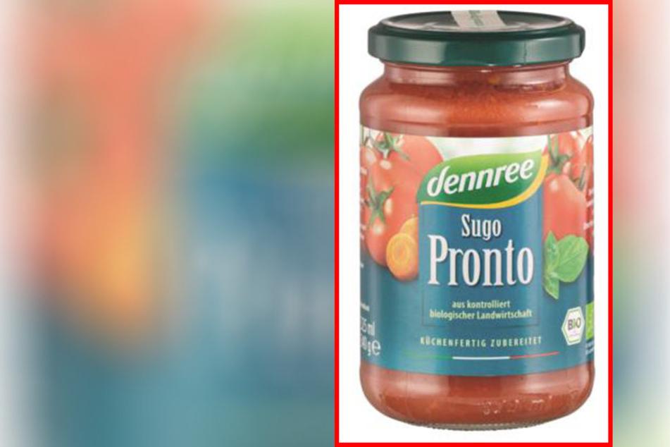 Diese Tomatensoße wird vom Hersteller Dennree zurückgerufen.