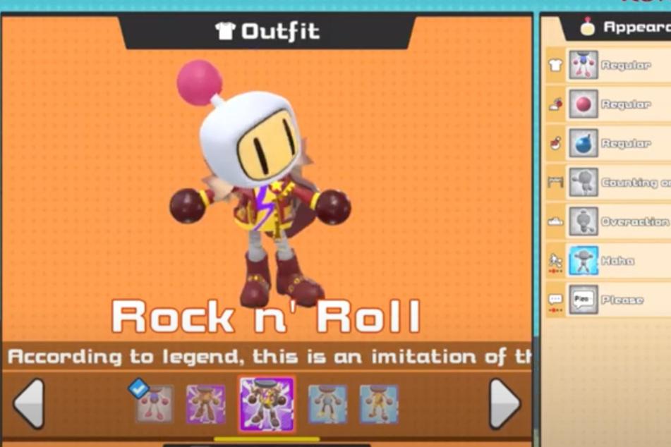 Eigene Outfits - und sogar eigene Bomben-Designs - sorgen für den einzigartigen Look der Charaktere.