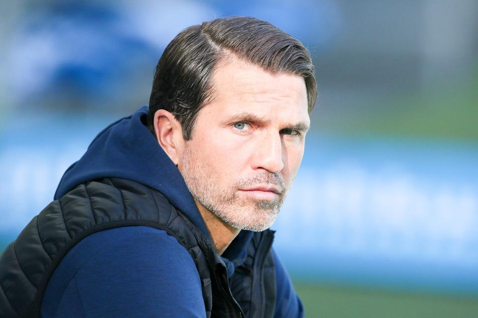 CFC-Trainer Patrick Glöckner (43) spricht sich für einenGehaltsverzicht aus, allerdings nur auf beschränkte Zeit (Archivbild).