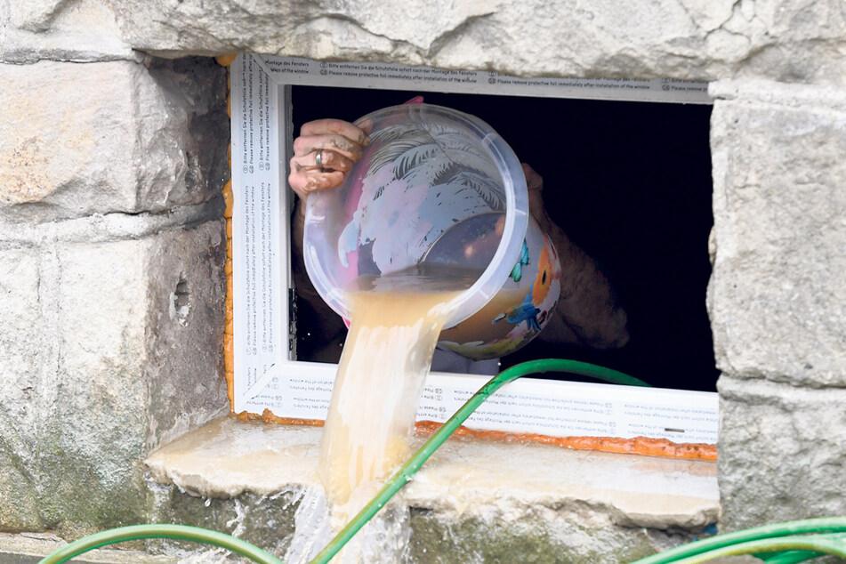 Wenn der Keller vollläuft, ist Vorsicht geboten.