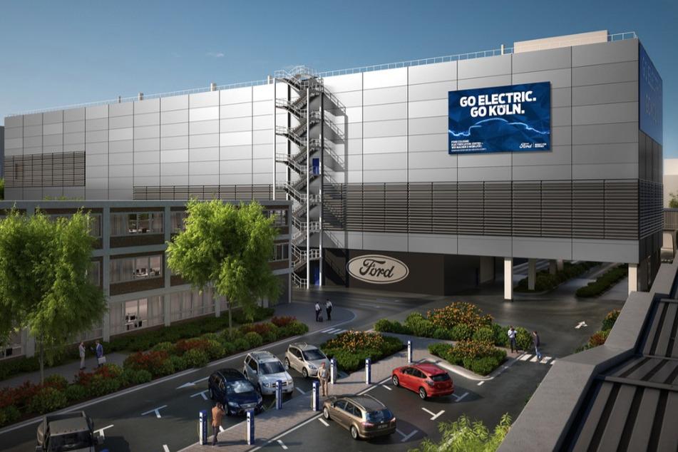 Ford baut gewaltige Werkhalle für Elektro-Autos aus Köln!