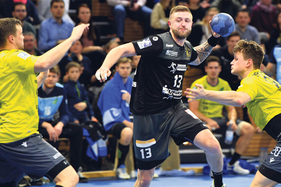 Handball in Dresden und Aue: Wird die Saison abgebrochen?