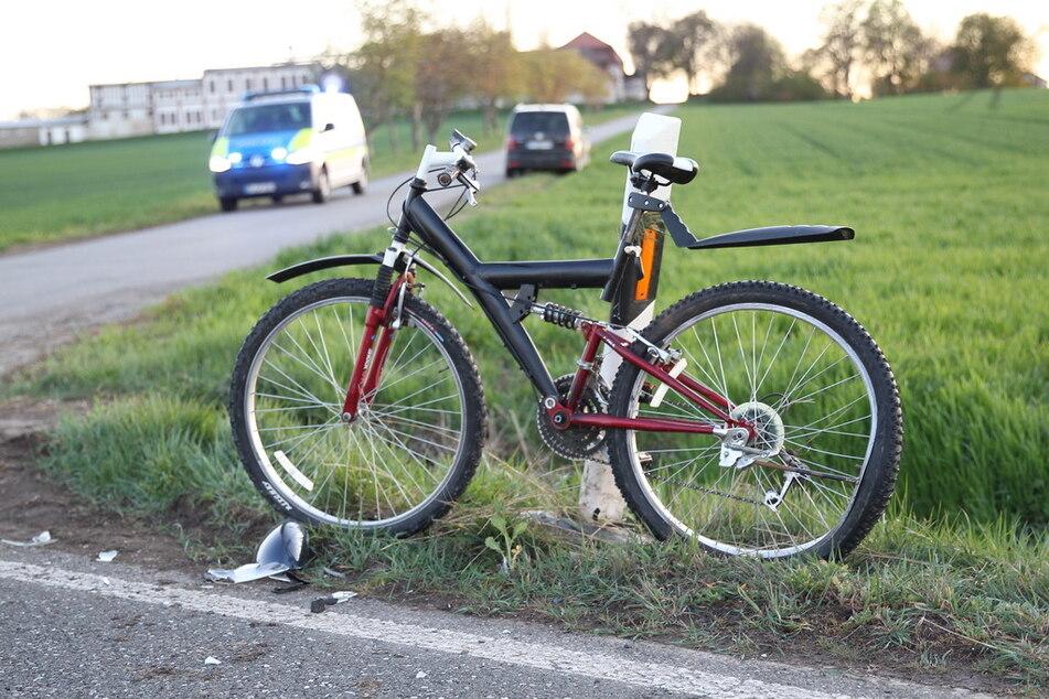 Am Sonntagabend wurde eine Radfahrerin (13) auf der B84 von einem Auto erfasst und schwer verletzt!