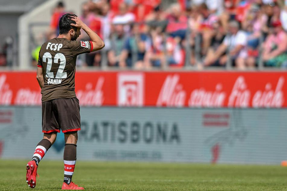 Cenk Sahin von Zweitligist FC. St. Pauli.