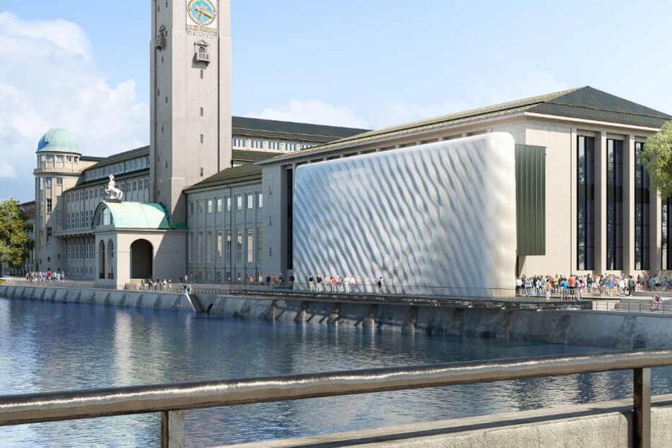 Das Deutsche Museum könnte eine Fassade aus dem 3-D-Drucker erhalten.
