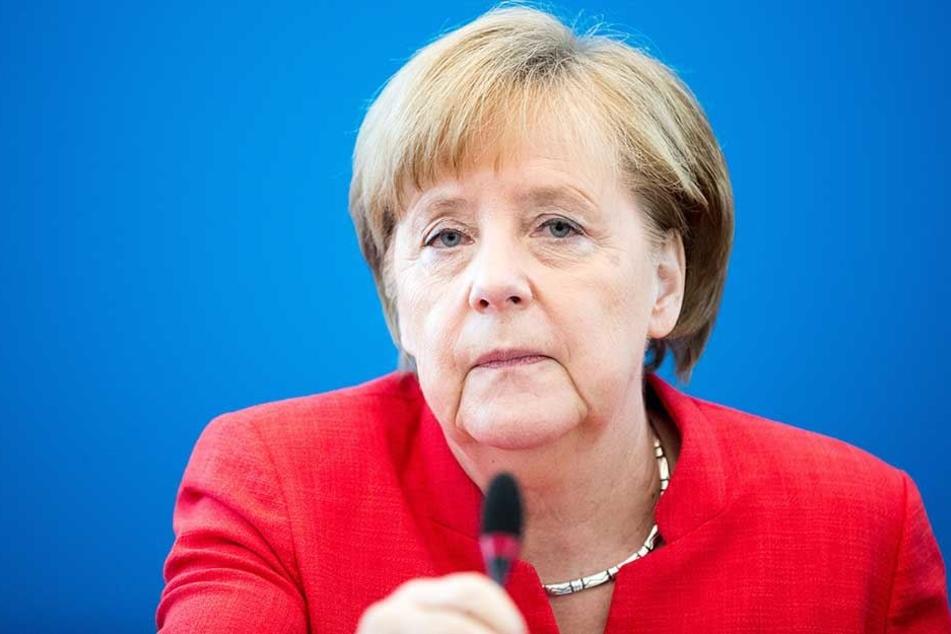 Bundeskanzlerin Angela Merkel strebt eine europäische Lösung der Flüchtlingsfrage an.