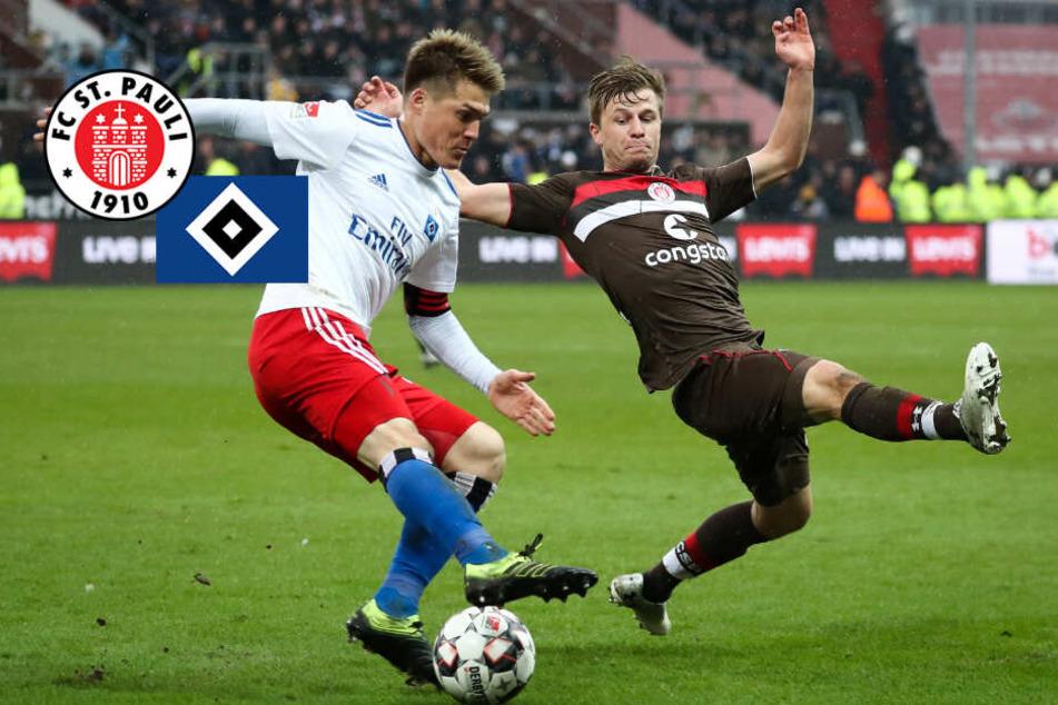 HSV startet mit Heimspiel gegen Darmstadt, St. Pauli reist nach Bielefeld
