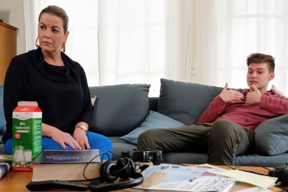 Sarah Marquardt sorgt sich zunehmend um ihren Sohn Bastian.