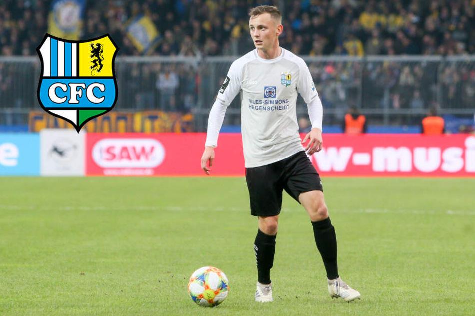 """CFC-Coach Glöckner lobt """"neuen"""" Linksverteidiger Blumberg"""